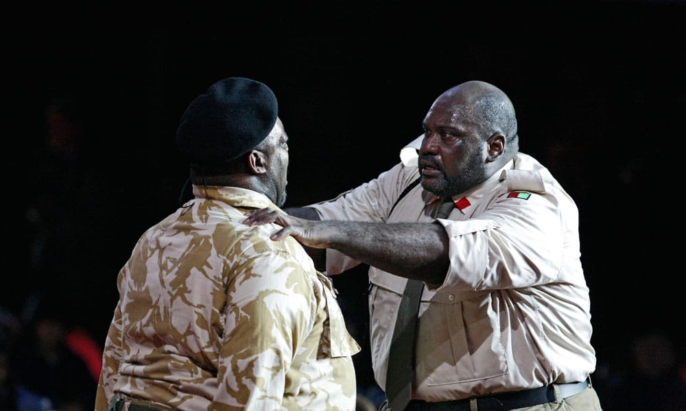 Otello Act 2, Birmingham Opera Co