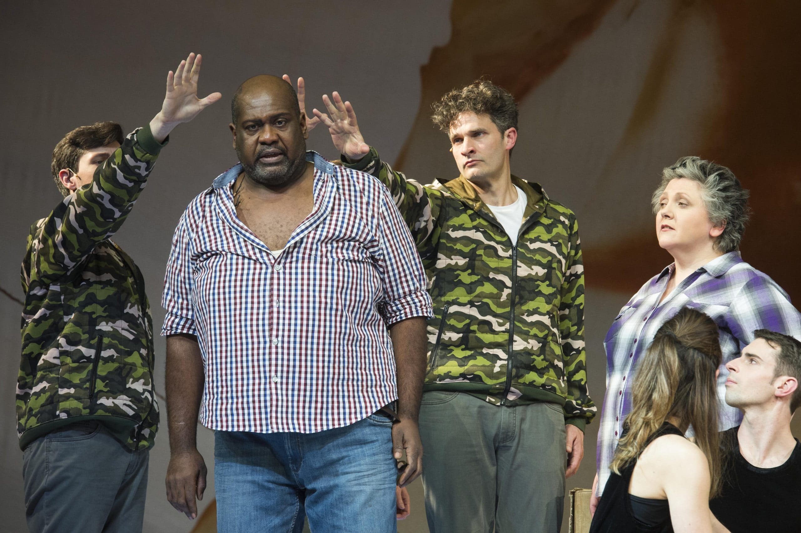 Ronald Samm - The Gospel According to the Other Mary, Theater Bonn